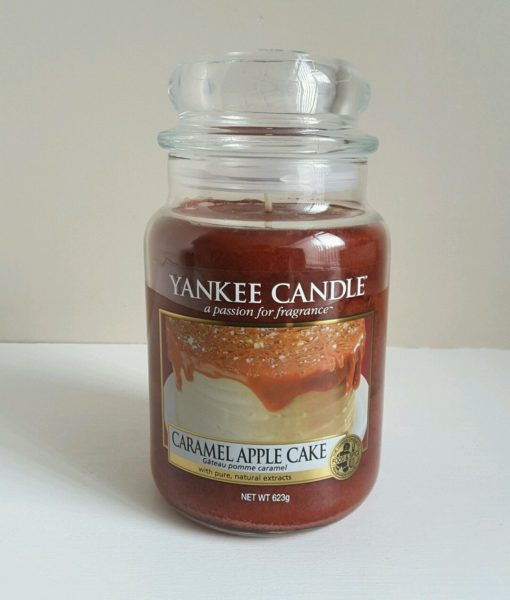 Yankee Candle Cake Images : Yankee Candle - Caramel Apple Cake Large Jar - TheStore91